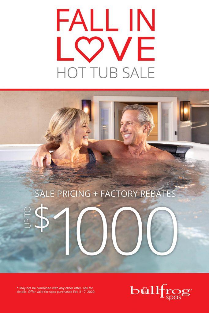 Fall In Love Hot Tub Sale