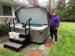 Joe Migliaccio, Best Hot Tubs' technician
