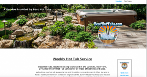 Best Hot Tubs Weekly Service