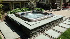 Beautifully Installed Best Hot Tubs' Spa