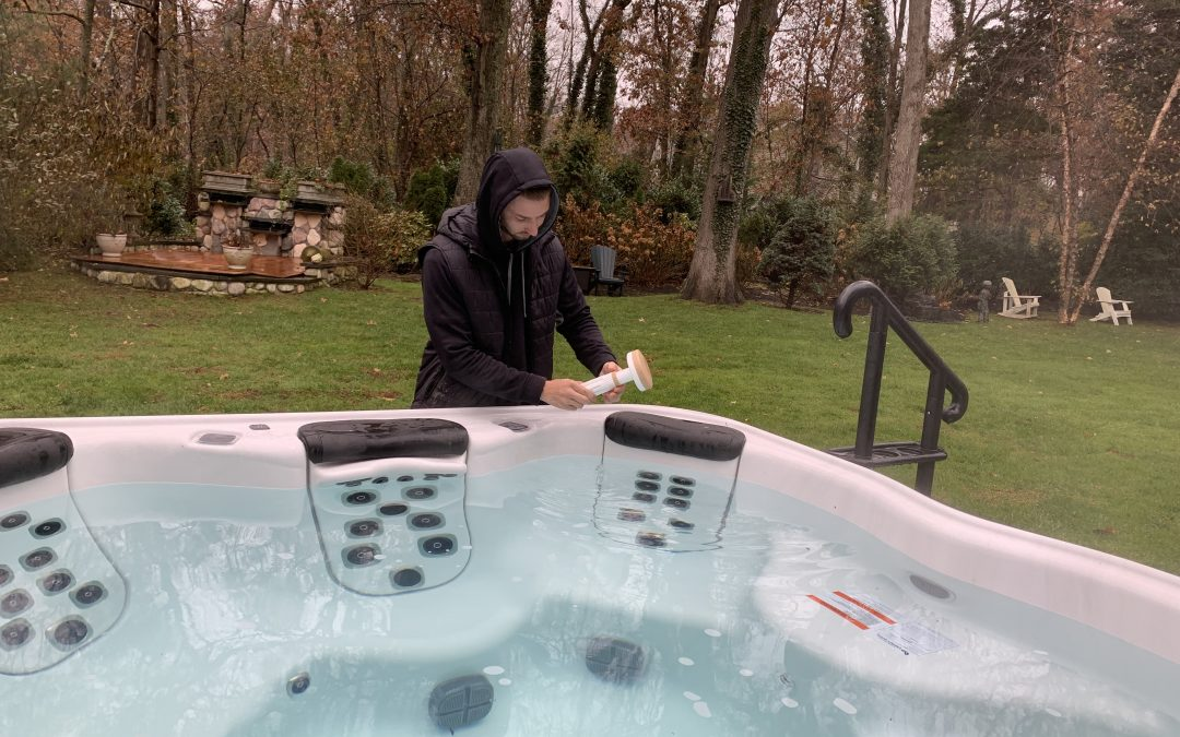 Heavenly Bliss is a Weekly Hot Tub Service Plan